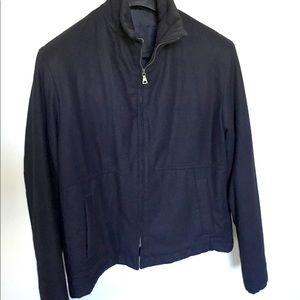 Jil Sander Vintage Navy Wool Jacket